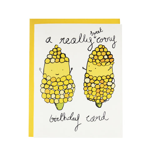 A Really Sweet Corny Birthday Card