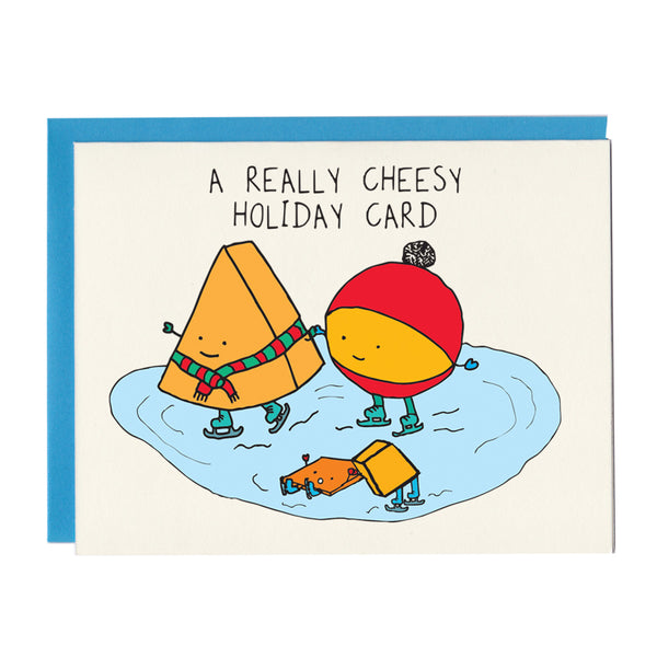 A Really Cheesy Holiday Card