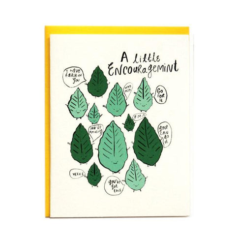 Encouragemint greeting card