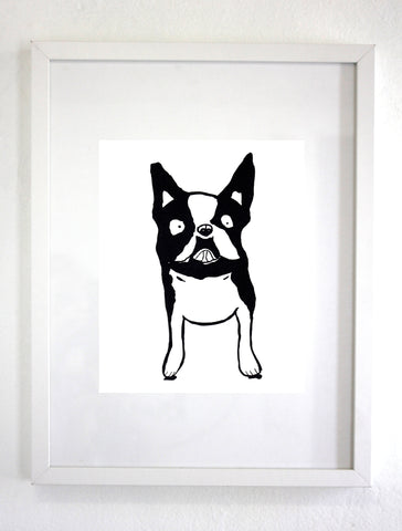 Frenchie Dog Art Print, Wall art, Wall Decor (unframed)