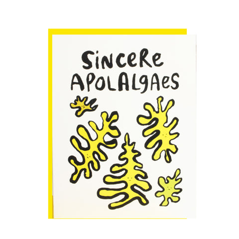 Scienre Apolalgaes Greeting Card