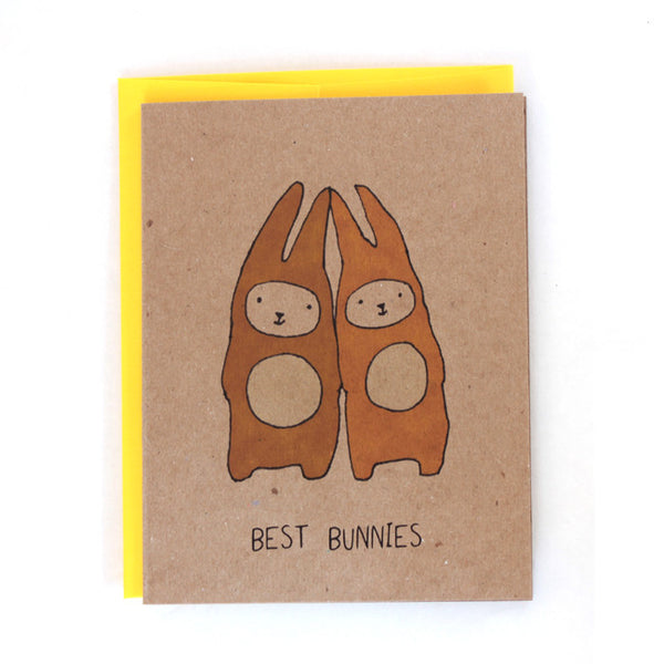 Best Bunnies Greeting Card