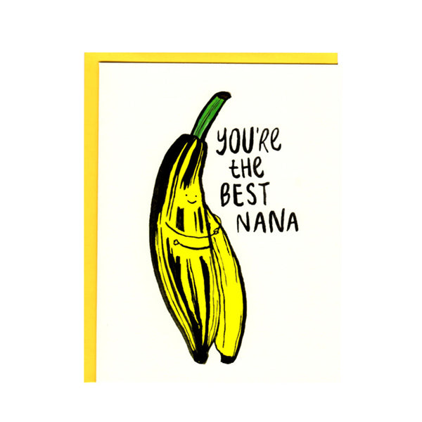 Best Nana Greeting Card