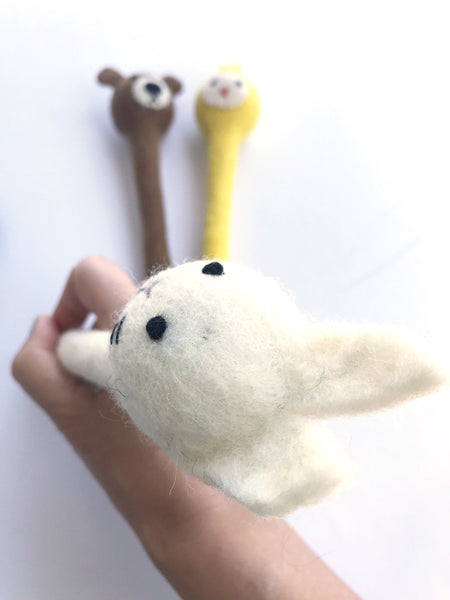 A Bunny Cute Pencil Hugger