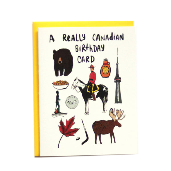 A Very Canadian Birthday Card