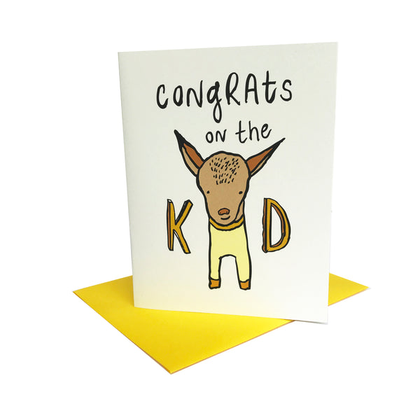 Congrats on the Kid Greeting Card