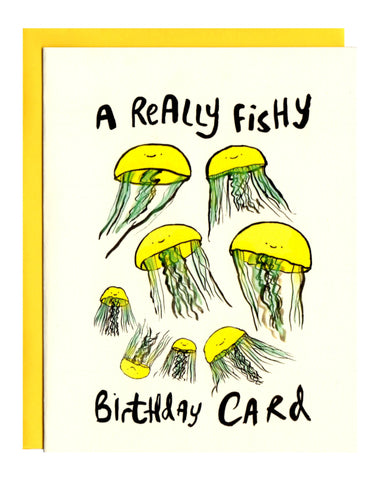 A Really Fishy Birthday Card
