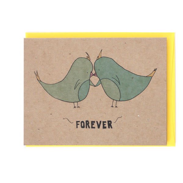 Forever Wedding Greeting Card