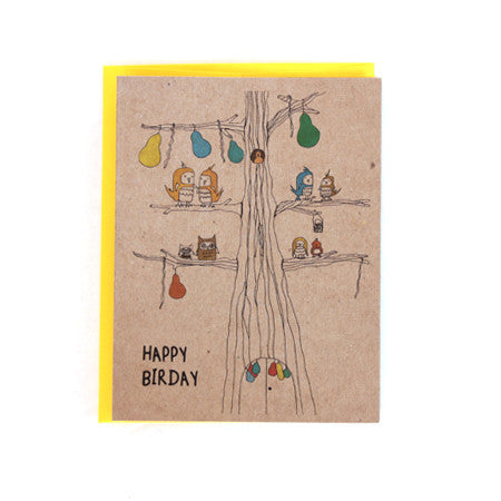Happy Birday Greeting Card