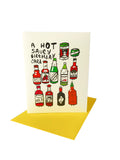 Hot Saucy Birthday Card