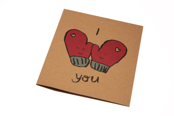 "Anniversary ""I love You"" Greeting Card"