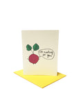 I'm rooting for You Greeting Card