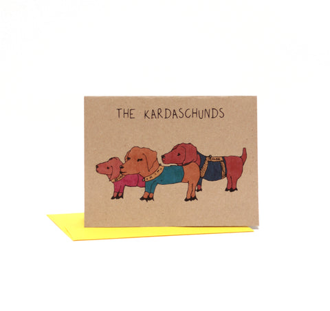 The Kardaschunds Card