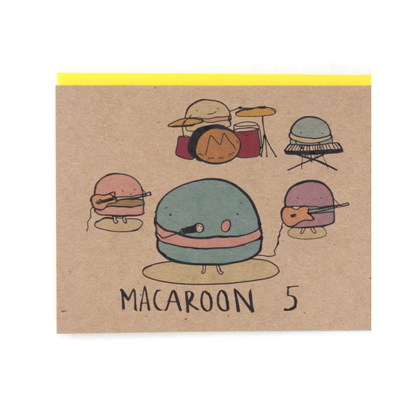 Macaroon 5 Greeting Card