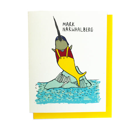 Mark Narwhalberg Card