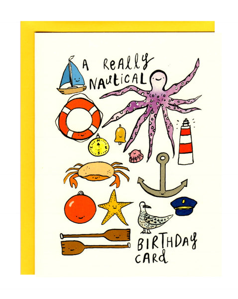 A Really Nautical Birthday Card
