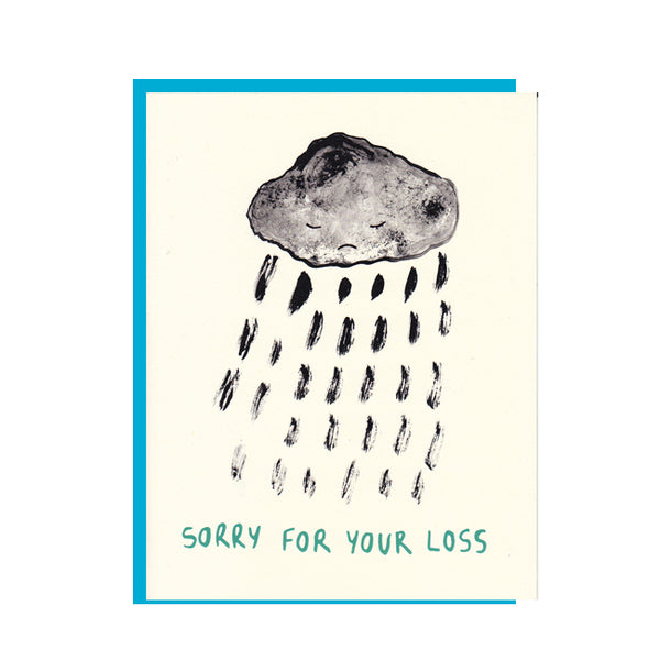 Sorry for your loss Condolence Greeting Card