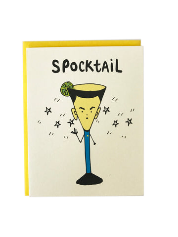 Spocktail Card