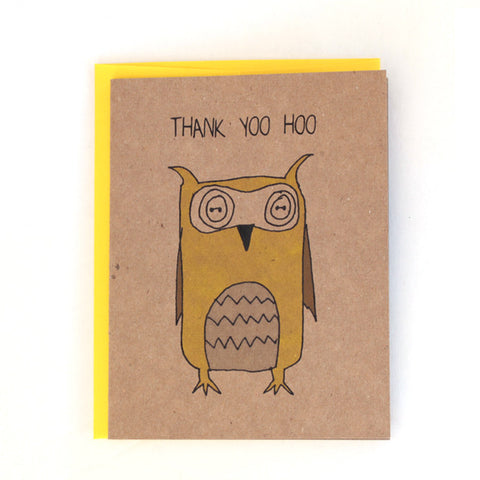Thank Yoo Hoo Greeting Card