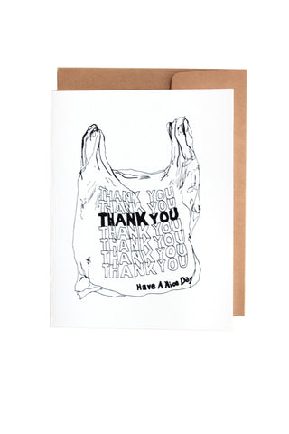 Thank You Bag Greeting Card