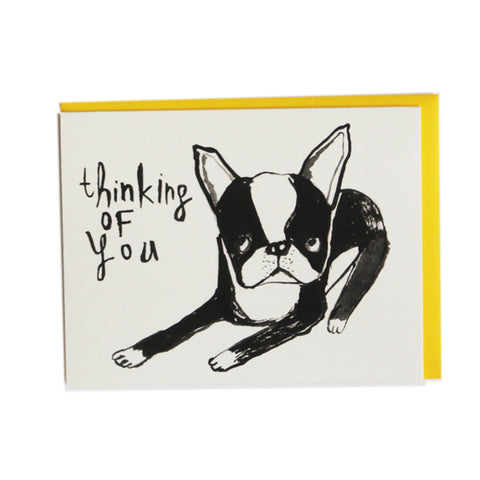 Thinking of You Boston Greeting Card