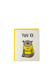 Top Koalatee Greeting Card