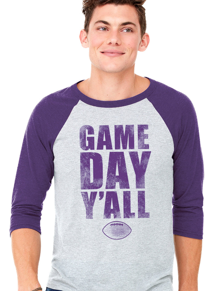 Arkansas Athletic Gameday Y'all Baseball Tee