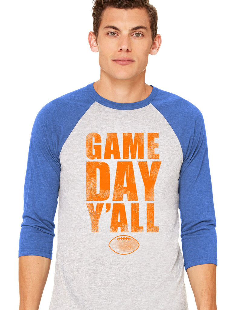 Florida Athletic Gameday Y'all Baseball Tee