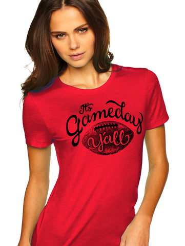 Georgia Script Gameday Y'all Tee
