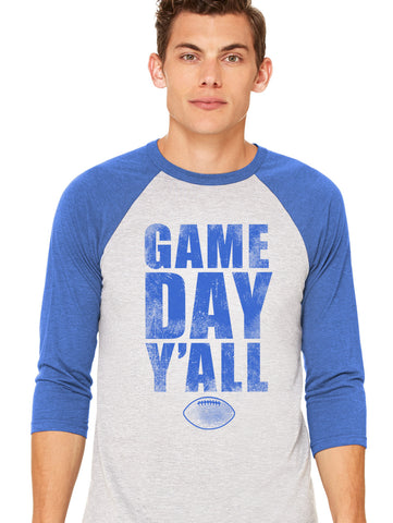 Kentucky Athletic Gameday Y'all Baseball Tee