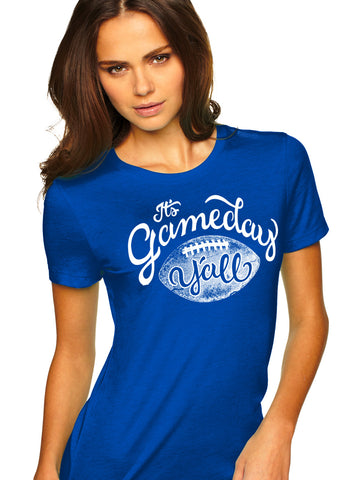 Kentucky Script Gameday Y'all Tee