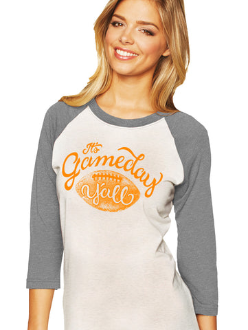 Tennessee Script Gameday Y'all Baseball Tee