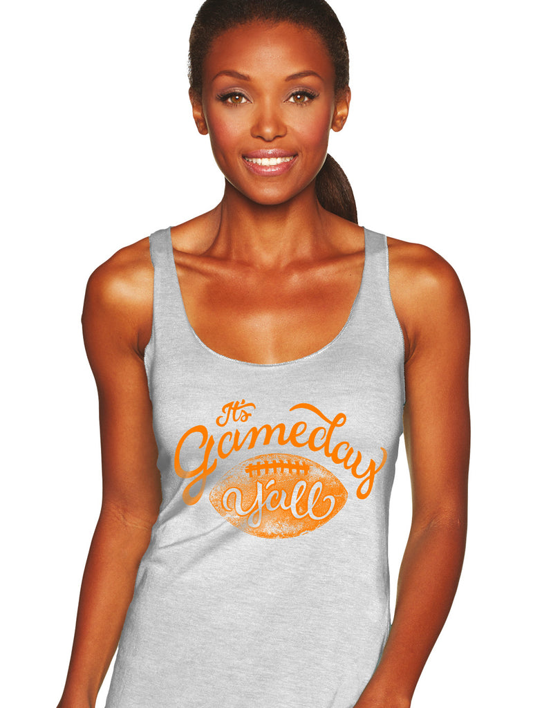 Tennessee Script Gameday Y'all Tank