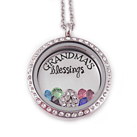 GRANDMA'S BLESSINGS LOCKET