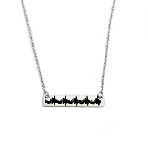 ULTRASOUND HEARTBEAT NECKLACE