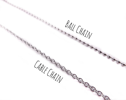 MILES APART BUT CLOSE IN OUR HEARTS 5 PIECE NECKLACE