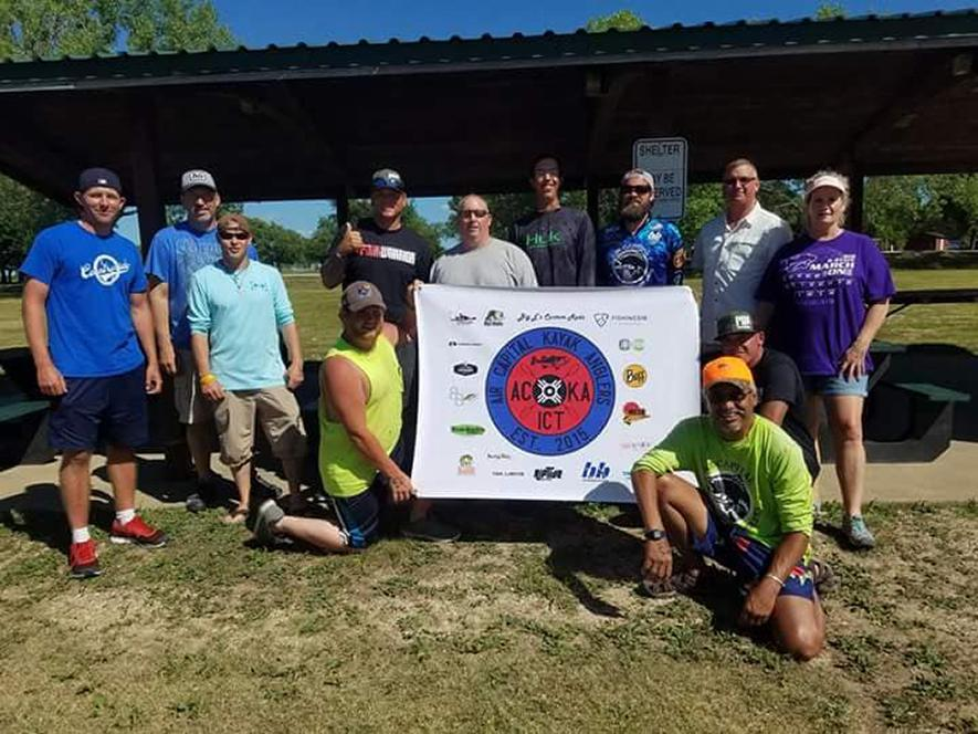 Kansas Kayak Fishing Club Angles to Help Others - Rheos Gear