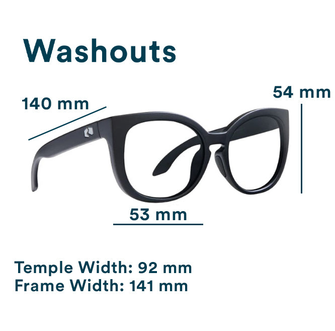 Washouts Fit Guide