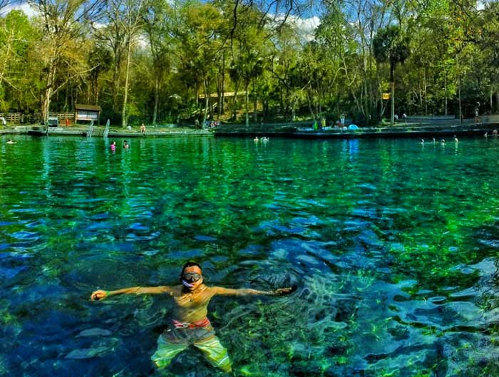 Floating Sunglasses Wekiwa Springs