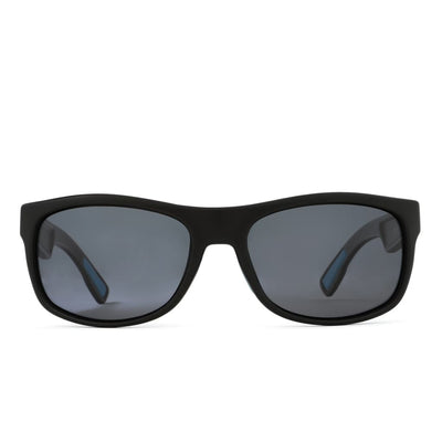 Anhingas (Rectangular) - Gunmetal Gunmetal Blue Accent - Sunglasses