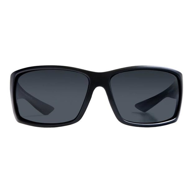 Eddies (Wrap-Around) - Nylon Optics-Gunmetal | Gunmetal - Sunglasses
