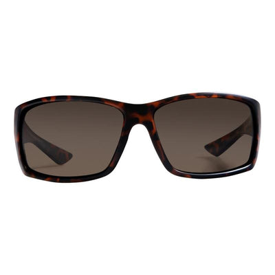 Eddies (Wrap-Around) - Nylon Optics-Tortoise | Amber - Sunglasses
