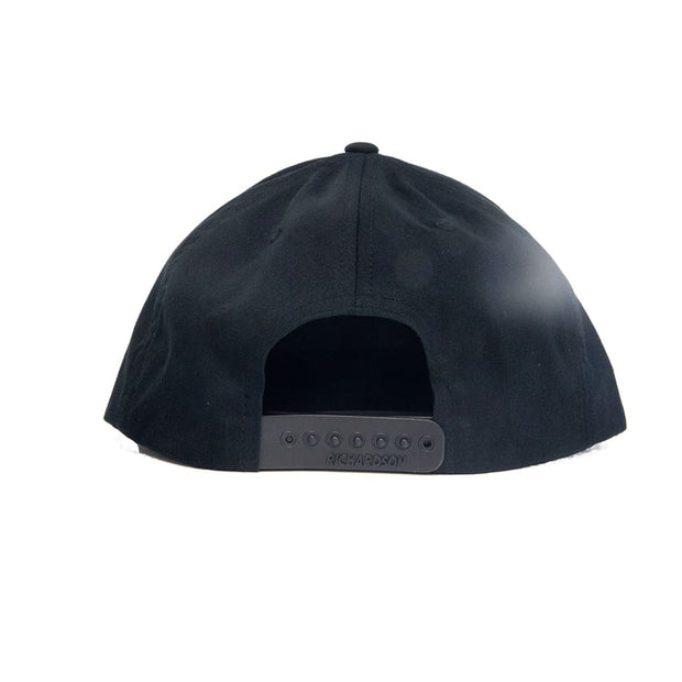 Rheos Patch Snapback Hat | Black - Hats
