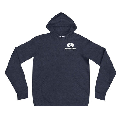 Rheos Super-Soft Hoodie - Heather Navy / S