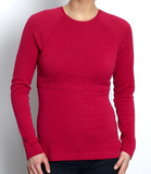 Pull Framboise Col Rond