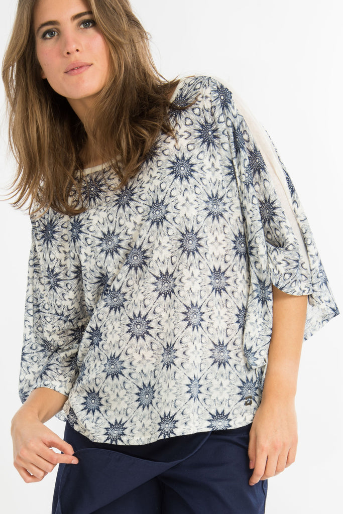 T-shirt Cape Bleu