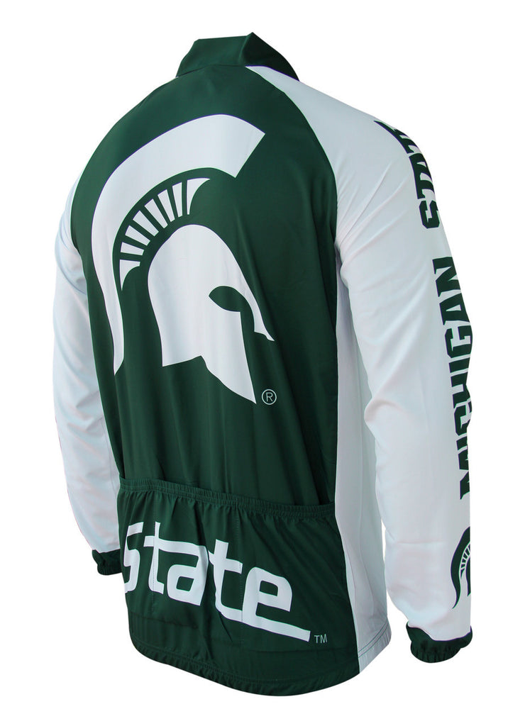 Michigan State Cycling Jacket - Collegiate Cycling Gear