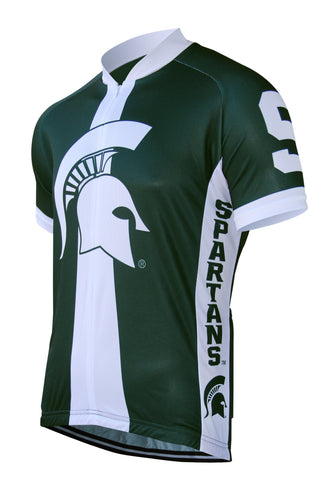 Michigan State Men's Cycling Jersey - Collegiate Cycling Gear