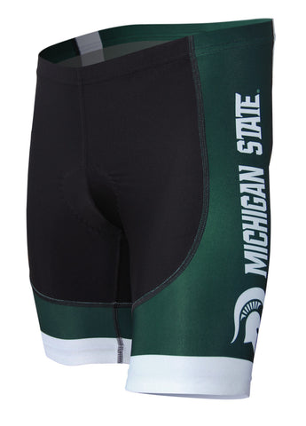 Michigan State Men's Cycling Shorts