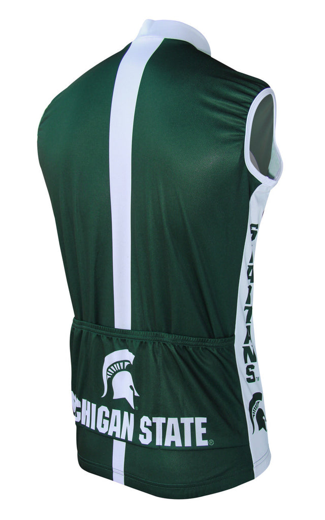 Michigan State Men s Sleeveless Cycling Jersey – Collegiate Cycling Gear d4aa86c32